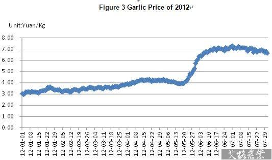 Garlic Price in China